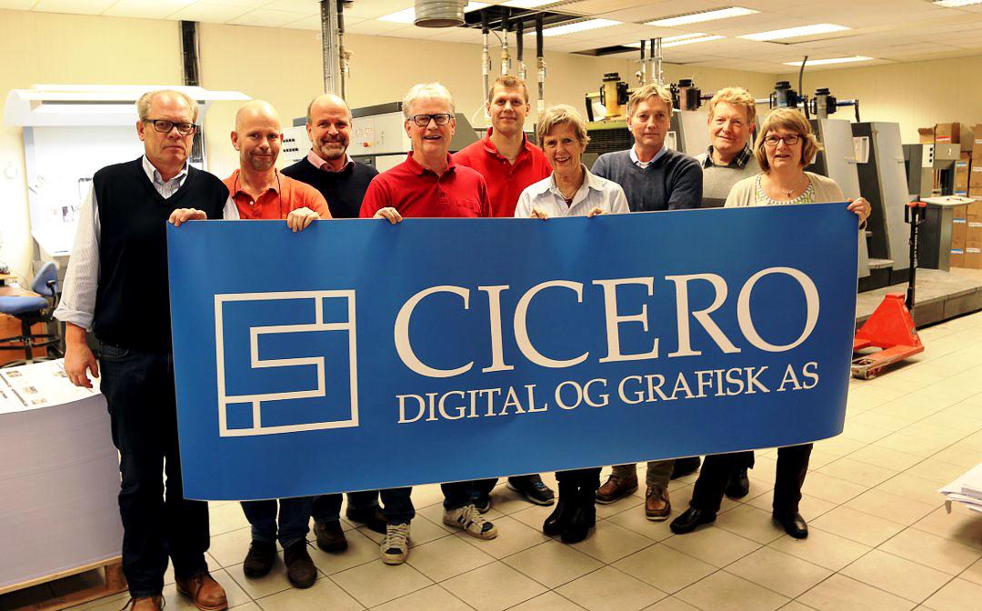 Cicero Digital og Grafisk ny logo