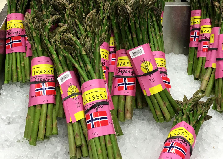 Hvasser asparges