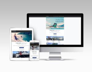 Sundal yacht webdesign