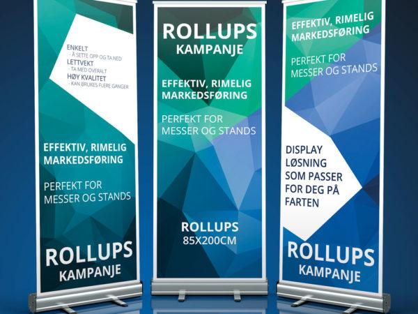 Rollupskampanje cicero digital og grafisk